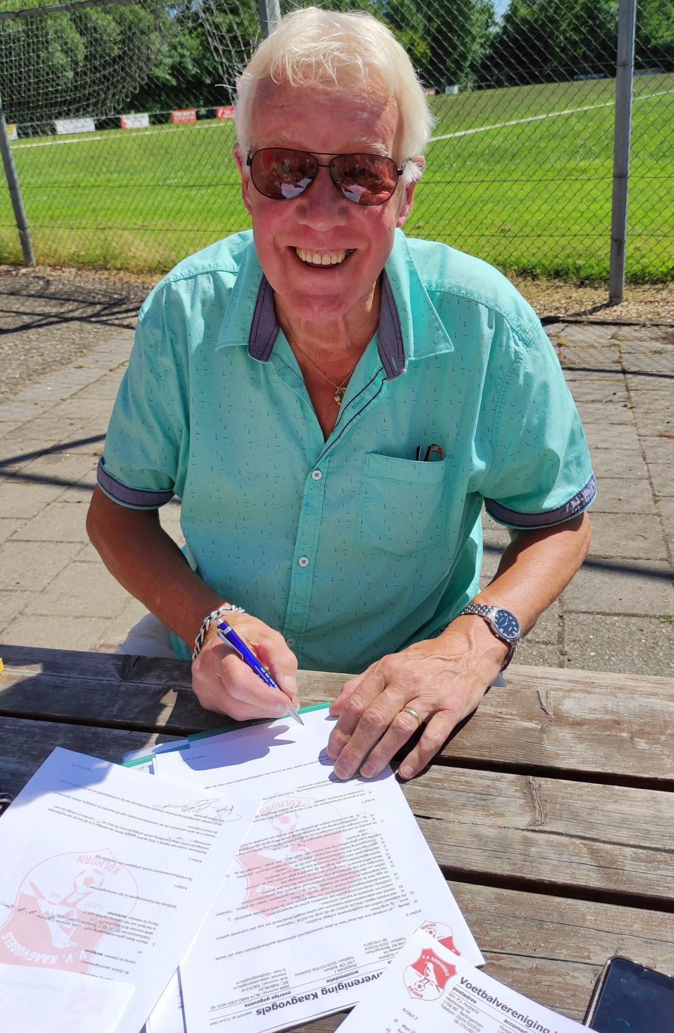 Kaagvogels presenteert Martin Rood als nieuwe trainer voor volgend seizoen